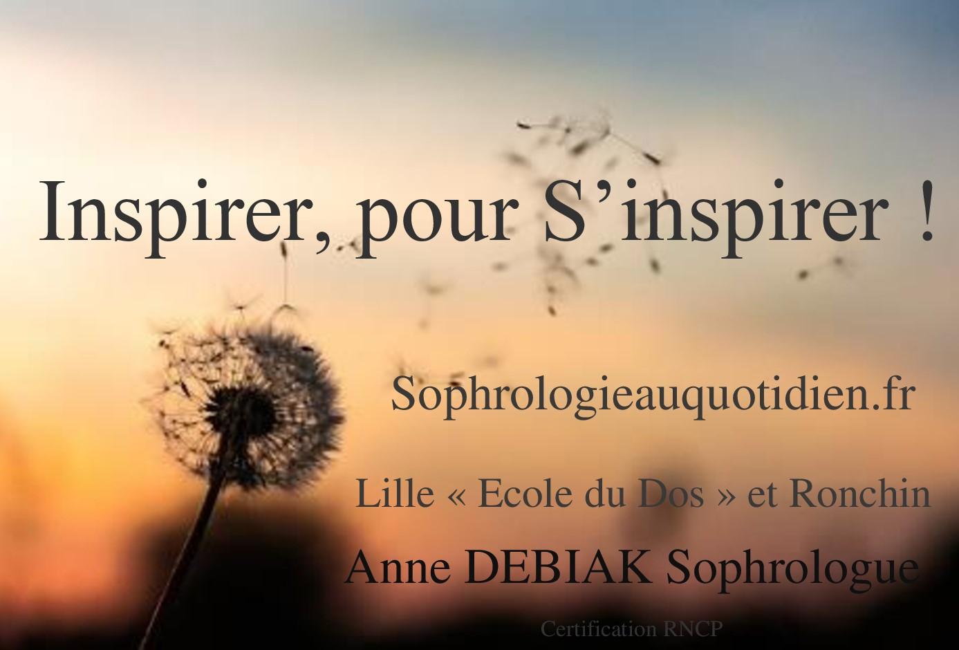 Inspirer pour s'inspirer